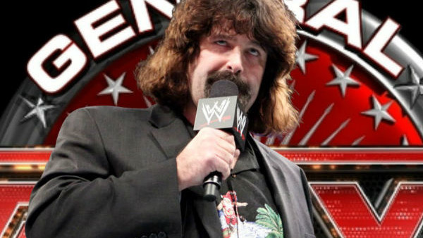 Mick Foley General Manager Raw