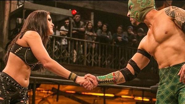 Ivelisse El Dragon Azteca Jr Lucha Underground
