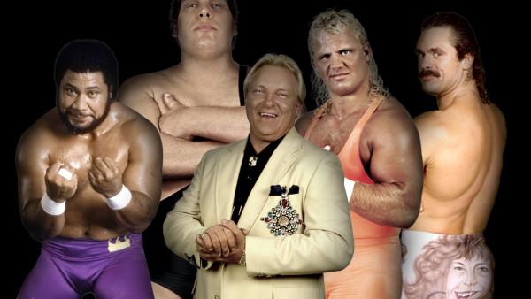 Heenan Family Andre the Giant Rick Rude Mr Perfect Haku