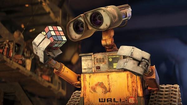 Wall-E Rubiks Cube