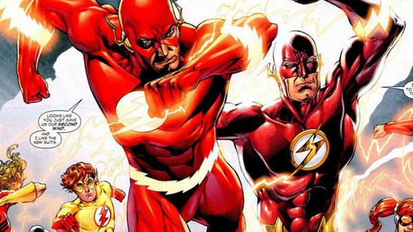 The Flash Wally West Barry Allen