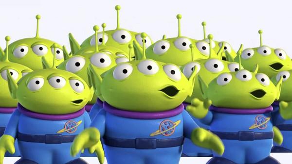 Toy Story Alien OOOOOH