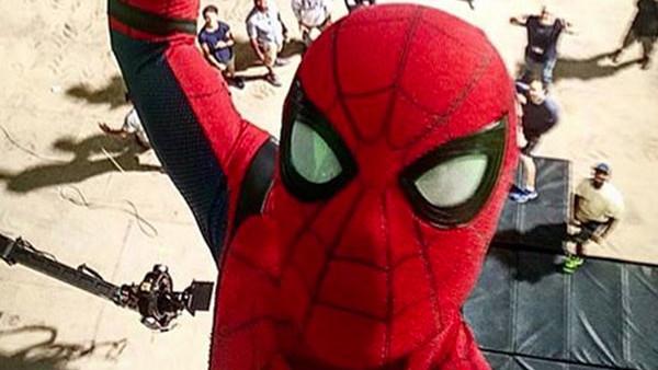 SPIDER MAN Selfie Tom Holland
