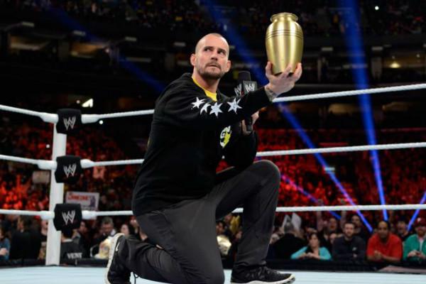 CM Punk Urn 2013 Undertaker
