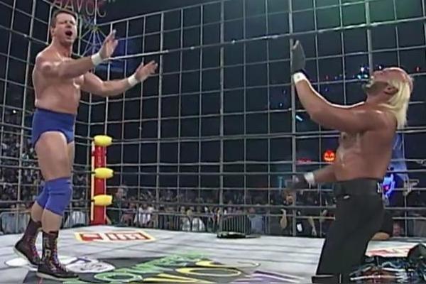 Roddy Piper Hulk Hogan Halloween Havoc 1997
