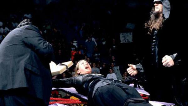 Undertaker Stephanie Wedding