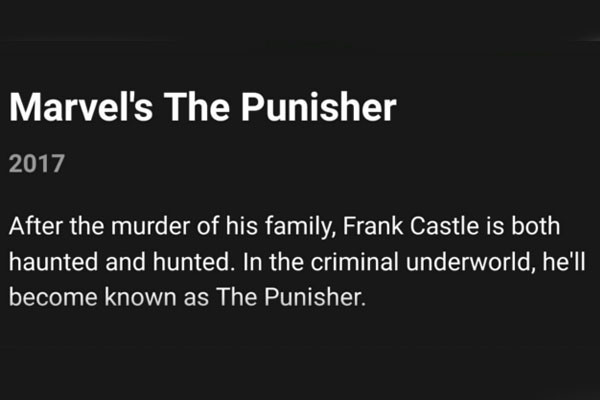 The Punisher netflix show could be coming soon