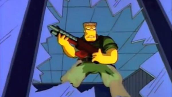 The Simpsons Mcbain Movie