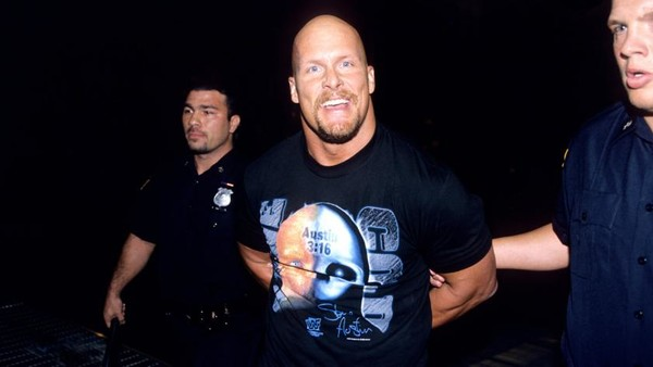 Stone Cold Arrested