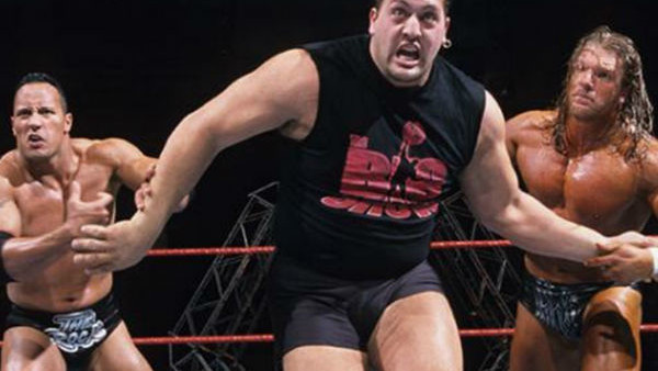 The Rock Big Show Triple H