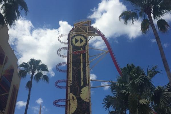 Universal Orlando Rip Ride Rockit