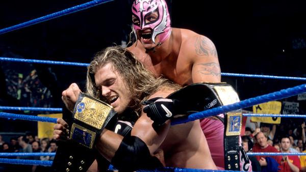 "Resultado de imagem para Edge rey mysterio tag team champions"""
