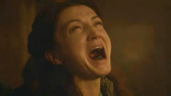 Game of Thrones Catelyn scream Red Wedding