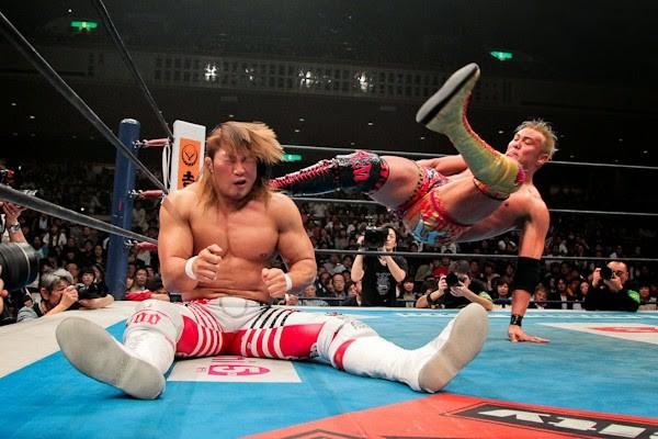 NJPW Tanahashi Okada