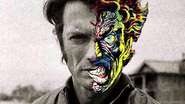 Clint Eastwood Two Face