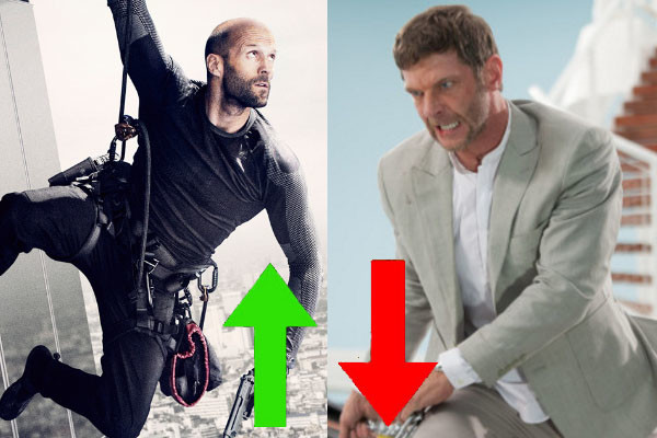 Mechanic Resurrection Jason Statham Sam Hazeldine