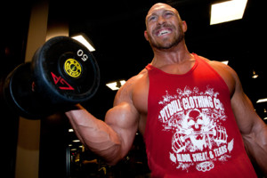 Ryback workout gym