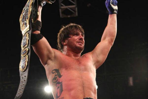 AJ Styles TNA Champion