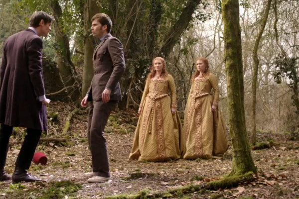 Doctor Who Day Of The Doctor Ten Eleven Two Elizabeths