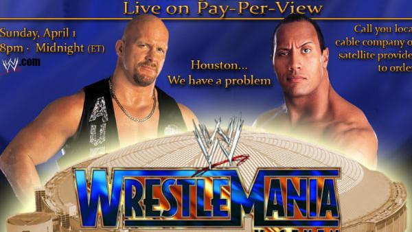 WrestleMania X Seven Poster
