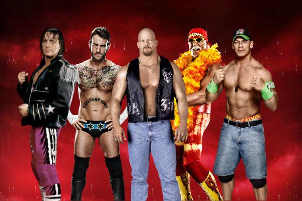 100 Greatest Wrestlers