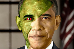 Obama Lizard People Conspiracy