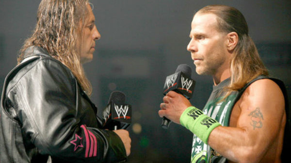 Bret Hart Shawn Michaels 2010