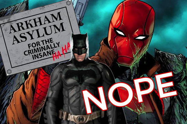 The Batman Red Hood