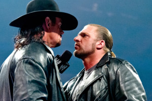 The Undertaker Triple H 2012