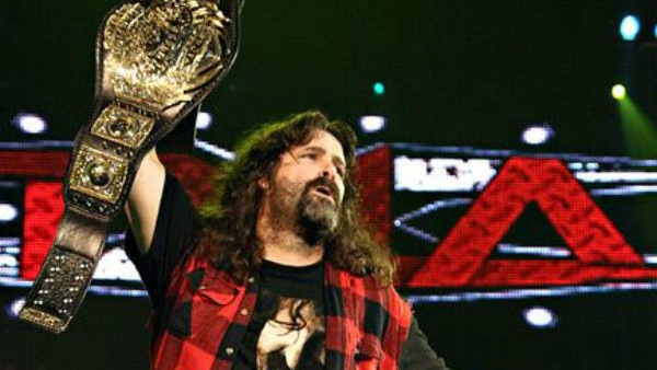 Mick Foley TNA Champion
