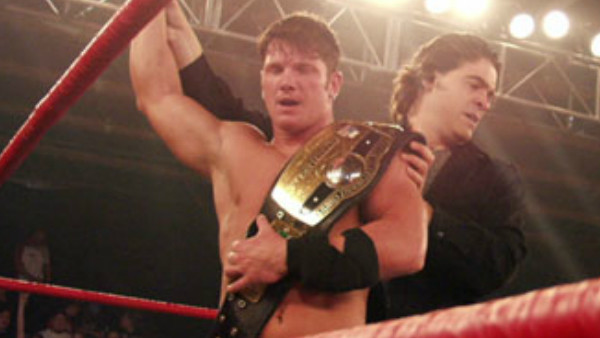 AJ Styles NWA Champion Vince Russo TNA