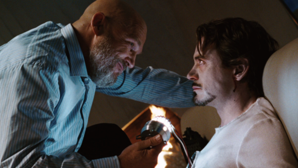 Iron Man Obadiah Stane Jeff Bridges Tony Stark Robert Downey Jr