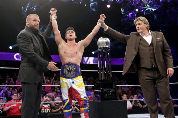 Tj Perkins Cruiserweight Title Triple H Regal