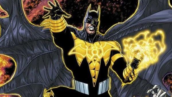 Batman Yellow Lantern