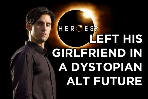 Heroes Peter Girlfriend