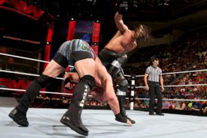 Seth Rollins Curb Stomp