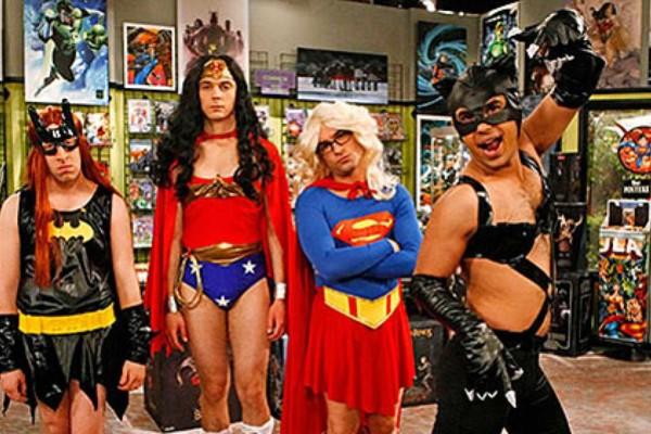 Big Bang Theory Superheroes