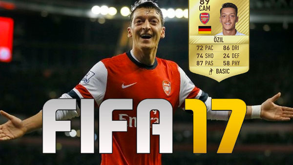 FIFA 17 Mesut Ozil