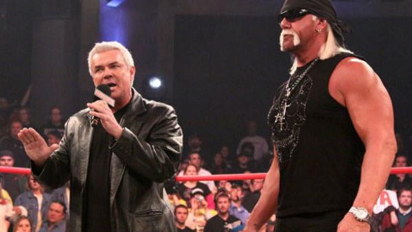 Hulk Hogan Eric Bischoff TNA