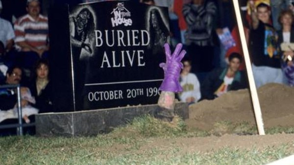 Undertaker Buried Alive