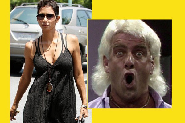 Halle Berry Denies She Ever Slept with Ric Flair