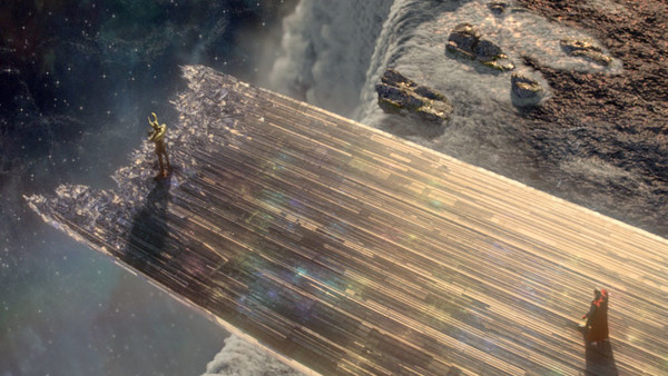 Thor Bifrost Rainbow Bridge Destroyed
