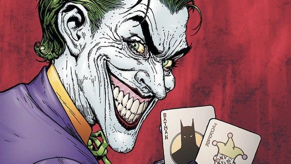 Batman Man Who Laughs Cover Joker