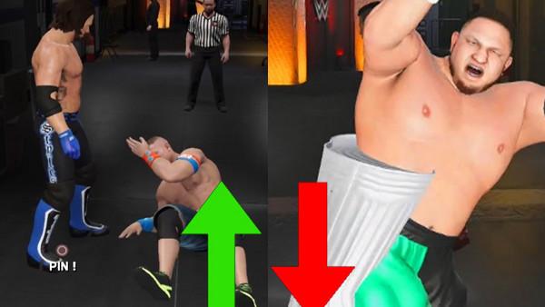 WWE 2K17 Samoa Joe John Cena AJ Styles