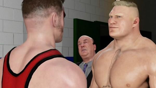WWE 2K17 Brock Lesnar