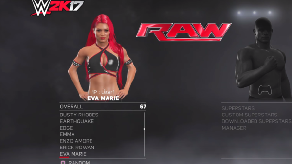 Eva Marie WWE 2K17