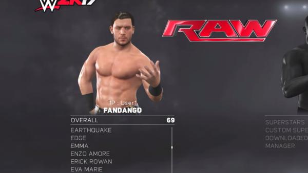 Fandango WWE 2K17