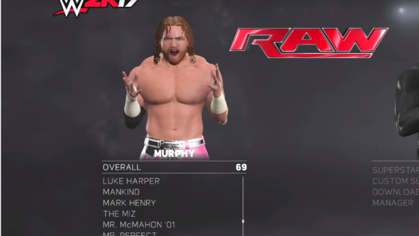 Murphy WWE 2K17