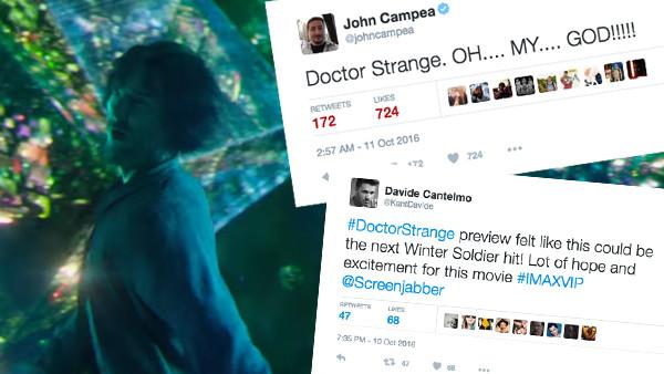 Doctor Strange Tweets