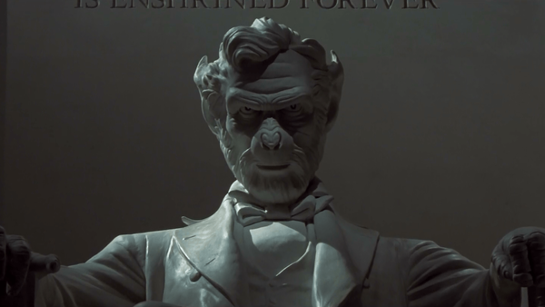 Planet of the apes lincoln